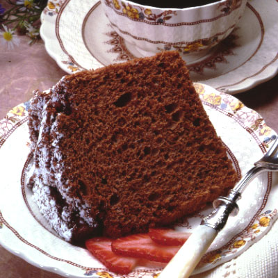 Chocolate Angel Food Cake Recipe | Meals.com