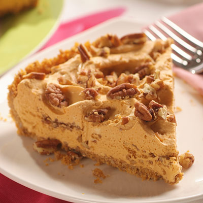Butterscotch Ice Cream Pie