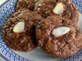 Chocolate Almond Cookie Bites