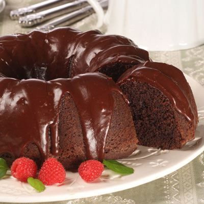 Bittersweet Chocolate Pound Cake