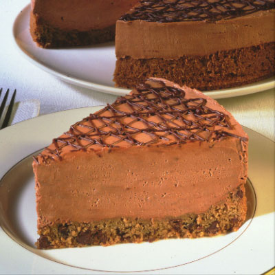 TOLL HOUSE® Easy Chocolate Cheesecake