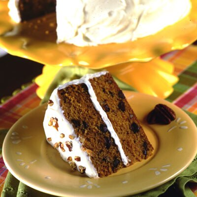 Brown-Eyed Susan Sweet Potato Cake