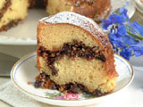 Almond-Chocolate Coffee Cake
