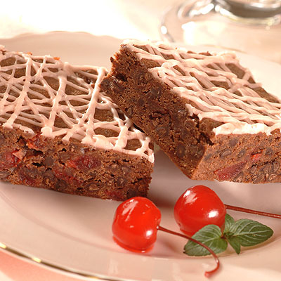Cherry Chip and Malted Brownies