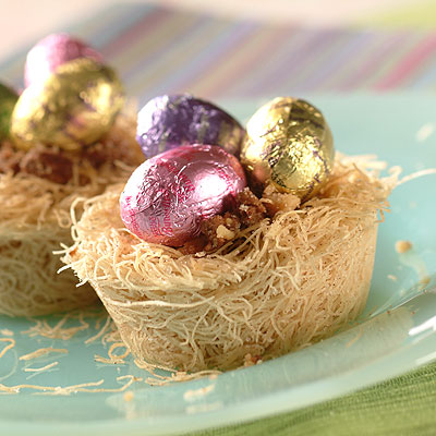 Phyllo Easter Nests