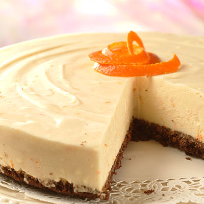 Orange White Chocolate Cheesecake | NESTLÉ® Very Best Baking