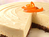 Orange White Chocolate Cheesecake