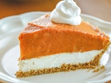 Double Layer <b>Pumpkin Pie</b> - Very Best Baking