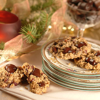 Mrs. Claus' Favorite Oatmeal Cookies