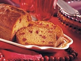Sensibly Delicious Pumpkin Cranberry Bread