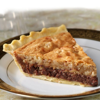 Sensibly Delicious Chocolate Chip Pie
