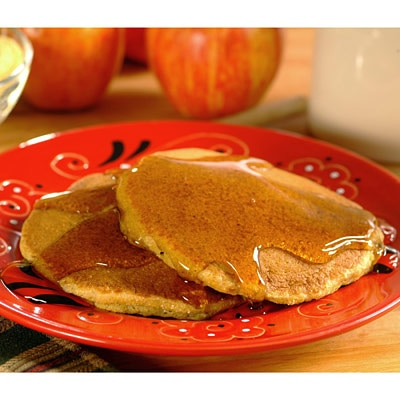 Image of Apple Corn Meal Pancakes, Very Best Baking