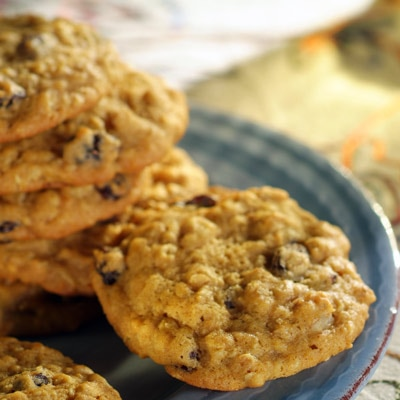 Pumpkin-Oatmeal Raisin Cookies