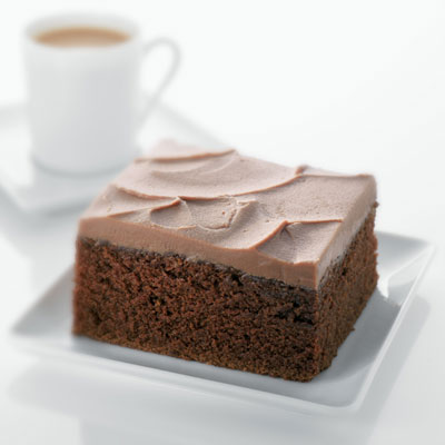 Classic Chocolate Cake with Creamy Chocolate Frosting