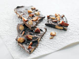 Sea-Salted Smoky Almond Chocolate Bark