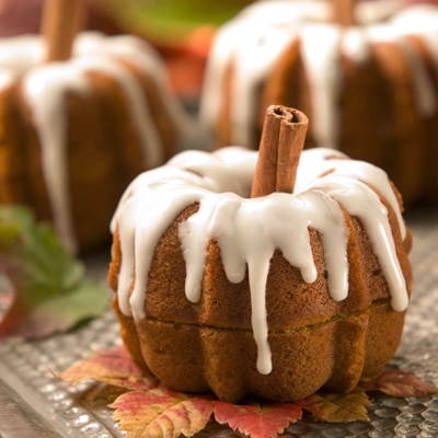 Pumpkin Patch Party Cakes