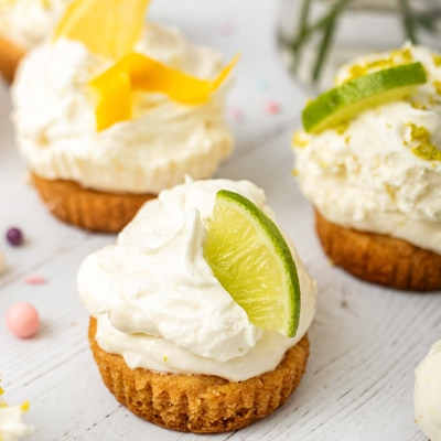 Mini Lemon Lime Tartlets