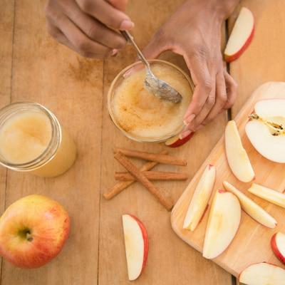 Applesauce + Pumpkin