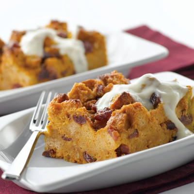 Pumpkin Bread Pudding with Br... | NESTLÉ® Very Best Baking