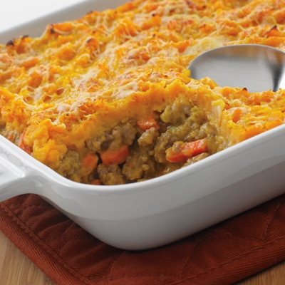 Beef & Pumpkin Shepherd's Pie