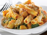 Baked Ziti with Pumpkin & Sausage