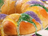 Mardi Gras Three Kings Cakes