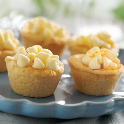 Bite-Sized Orange Cookie Cups