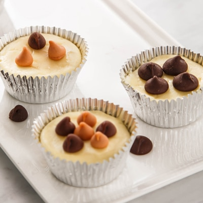 Easy Mini Cheesecake Cups