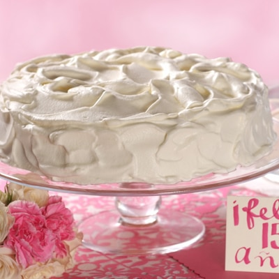 Happy 15th Three Milk Cake (Tres Leches)