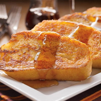 Eggnog-Spiced French Toast