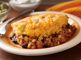 Chili vs. Cornbread Bake
