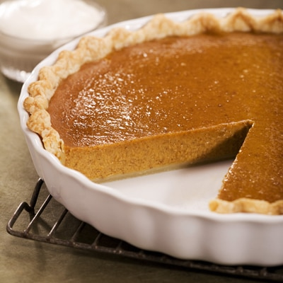 Pumpkin Bourbon Pie