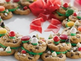 Very Merry Cookie Wreath
