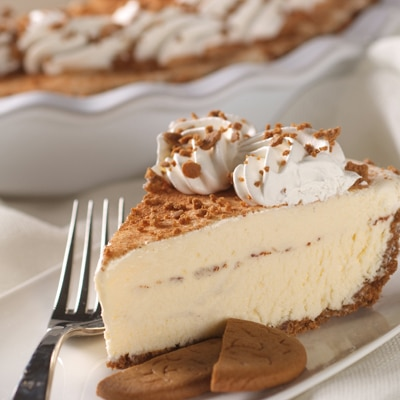 Gingersnap-Spiced Ice Cream Pie
