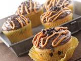 Easy Chocolate Chip Peanut Butter Cupcakes