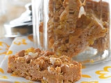 Easy No-Bake Butterscotch Coconut Cereal Bars