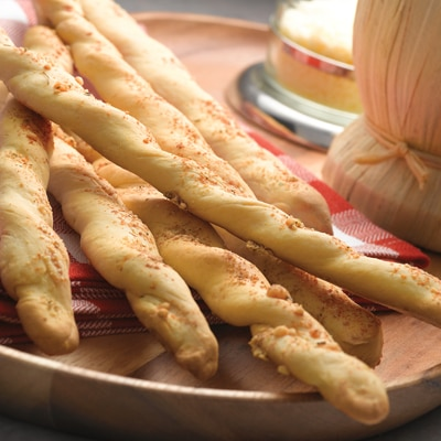 Savory Parmesan Bread Sticks