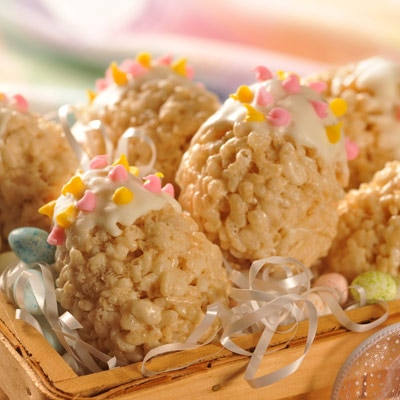 Crisped Rice Easter Egg Treats