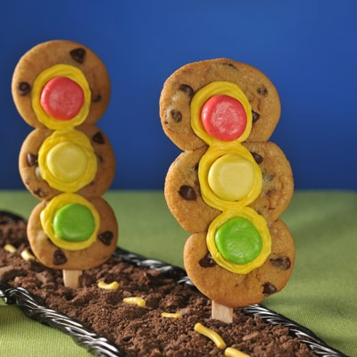 Chocolate Chip Traffic Lights