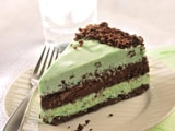 Dark Chocolate & Mint Ice Cream Torte