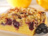 Lemon Blueberry Coffeecake