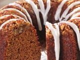 Pumpkin Orange Pecan Bundt Cake