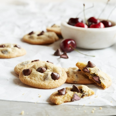 NESTLÉ® TOLL HOUSE® Cherry Flavored Filled DelightFulls™ Chocolate Chip Cookies