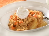 Apple Crisp with Pumpkin Spice Morsels