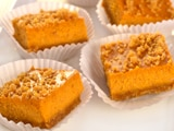 Pumpkin Cheesecake Mini Bars