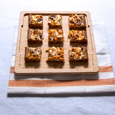 Pumpkin Spice Layer Bars