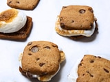 Chocolate Chip S'mores Sandwiches