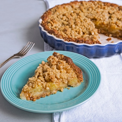 Apple Streusel Pie