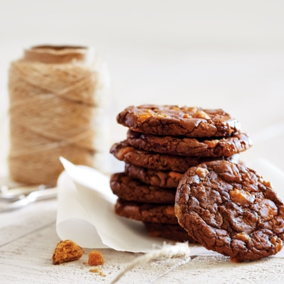 Brownie Cookies with BUTTERFINGER® Baking Bits