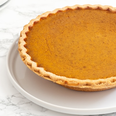 LIBBY'S® Famous Pumpkin Pie with CARNATION® Almond Cooking Milk